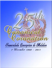 The Silver 25th Canonical Coronation Anniversay of La Inmaculada Concepcion