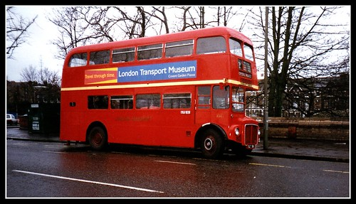 London transport prototype Routemaster RM1  Feb 1996.