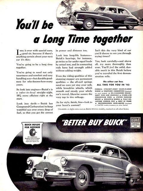 1942 Buick Super Sedanet & 4-Door Sedan