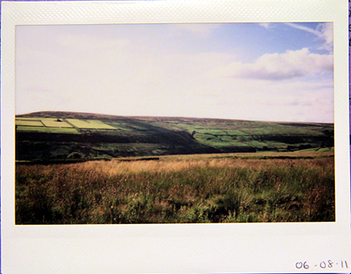 fujifilm: moors above hebden bridge