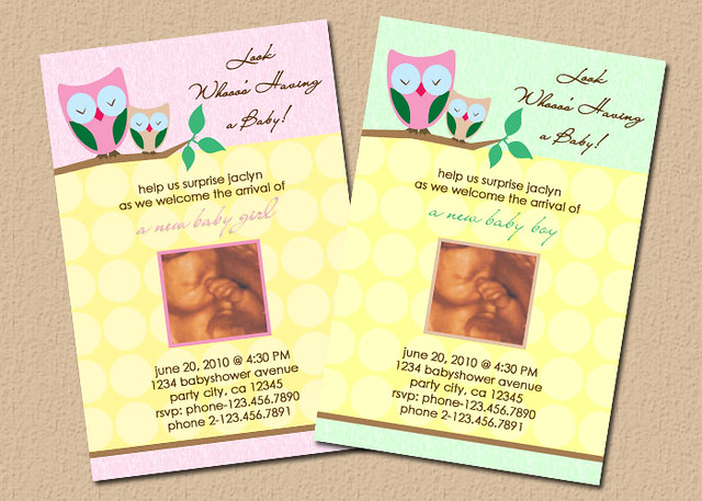 owl theme baby shower invitations flickr photo sharing