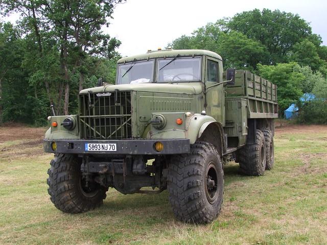 KrAZ 255  6x6  V8 16 Litres