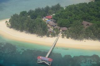 Immagine di 热浪岛沙滩 Spiaggia con una lunghezza di 570 metri. beach asia malaysia pulauredang nikond7000