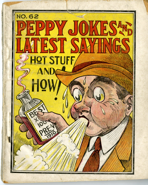 Hot Flash Jokes http://www.flickr.com/photos/hopkinsarchives/6049626966/