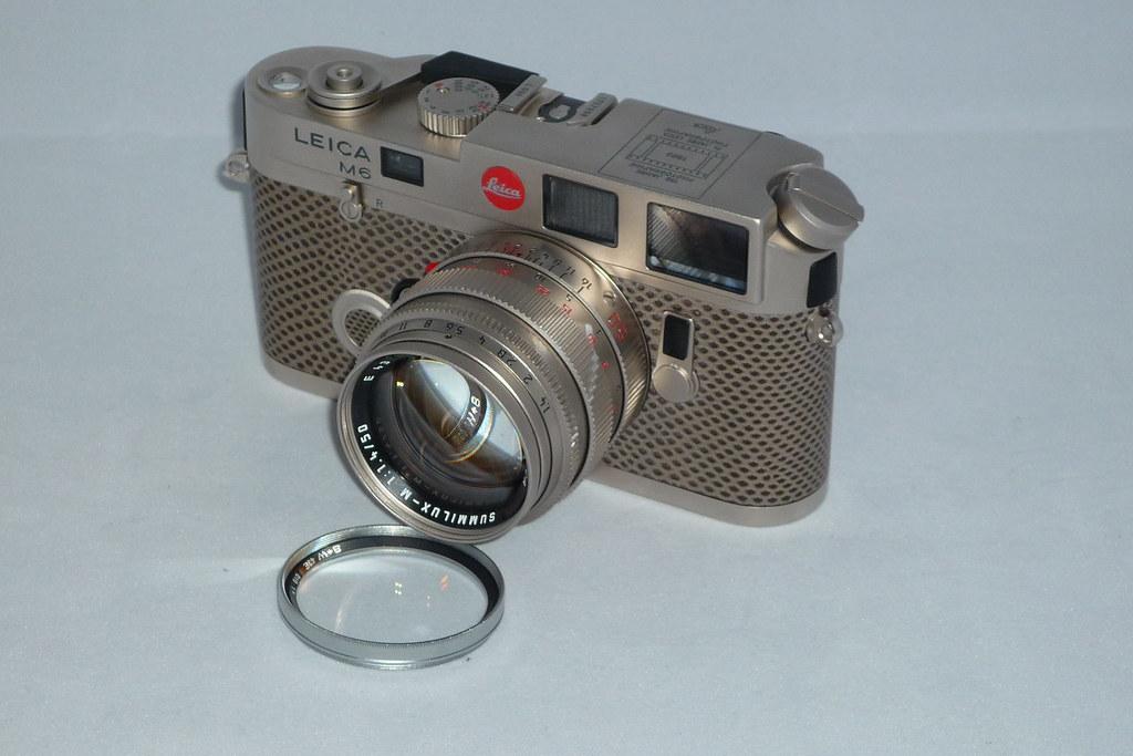 Leica M6 Platinium with matching Summilux 50   1989's