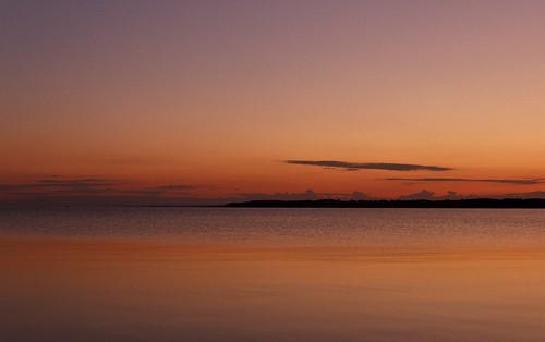 orange sun lake colors sunrise photography michigan traversecity 550d canoneosrebelt2i jennicaw