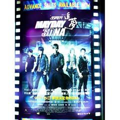 Mayday concert at the movies! @stonechen0531 大叔、这里也看到你的杰作!#lagoonig #movies #concert #mayday