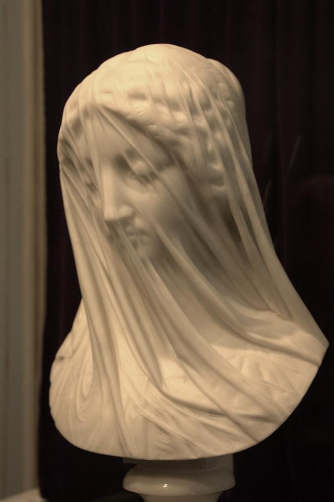 Giovanni Strazza's Veiled Virgin