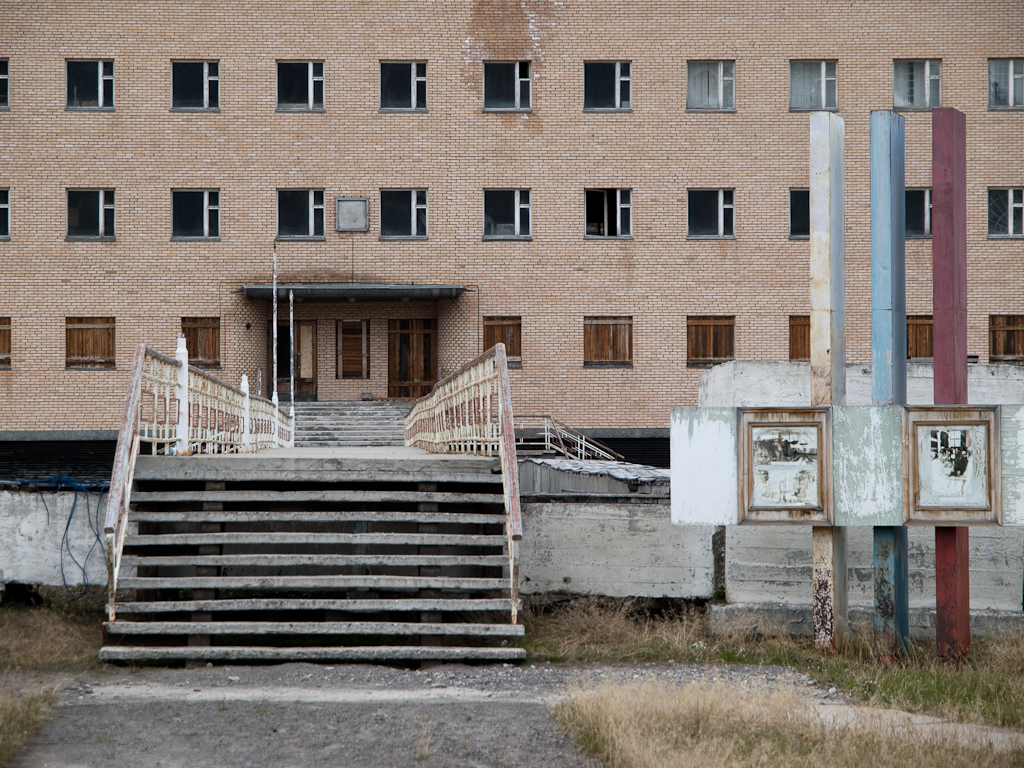 Pyramiden | Pyramiden, an abandoned Russian mining city at S