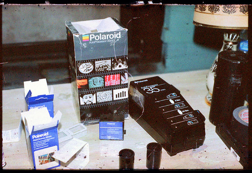Polaroid PolaChrome 35mm Film / Processor