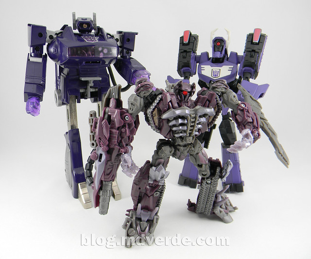 Transformers Shockwave G1 - modo robot vs otros Shockwaves ...