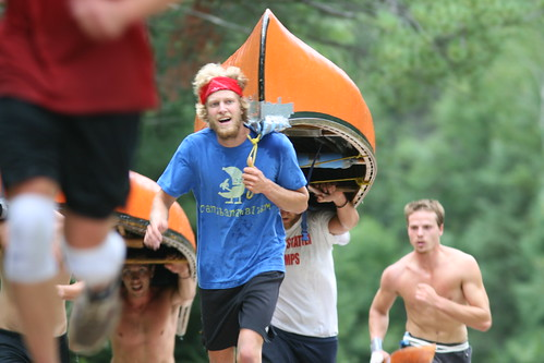 Team Work ... Stilson canoe race 2011
