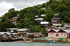 Fishing VIllage, One Hour South of El Nido by Banca