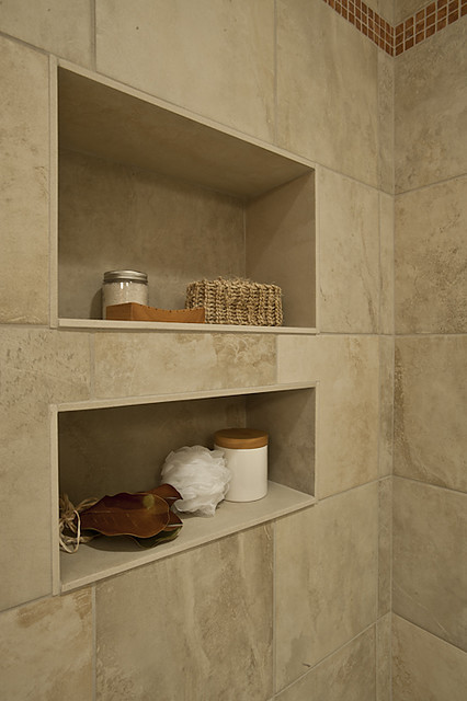 Adding a shampoo niche to your bathroom design