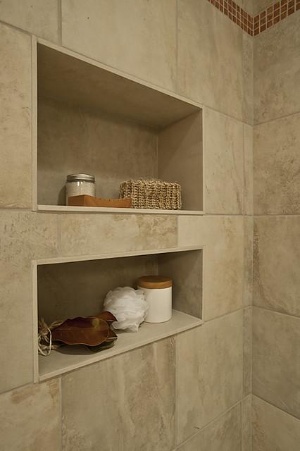 Adding A Shampoo Niche To Your Bathroom Design