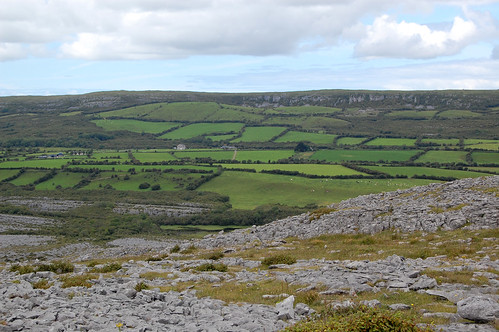 ireland landscapes theburren august countyclare mullaghmor