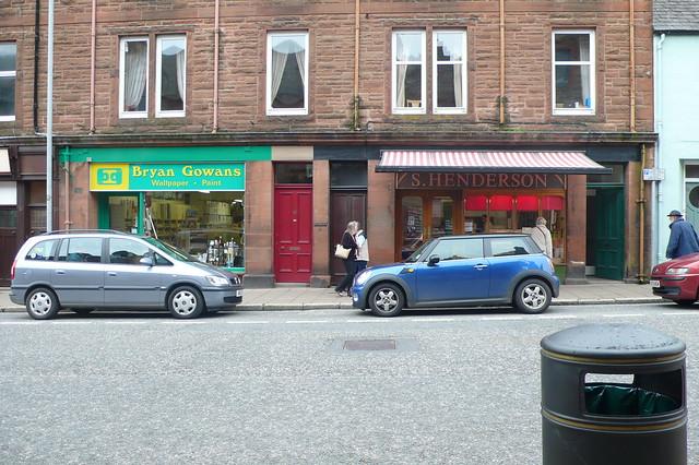 Shop Fronts, Castle Douglas