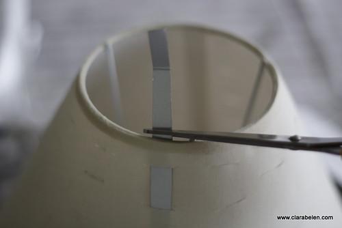 Reciclar o renovar una pantalla de lámpara con un tetrabrick