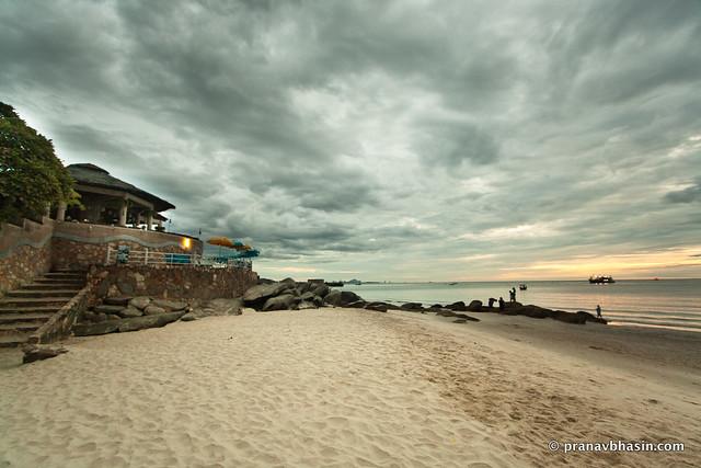 Hua Hin Beach @ 10mm