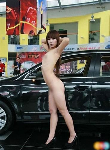 Naked Car Model In China