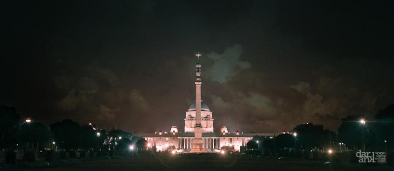 The Rashtrapati Bhavan – New Delhi, India