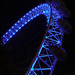 London Eye at night by Larterman