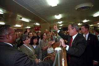 911: President George W. Bush Visits Pentagon, 09/17/2001.