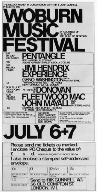 Woburn Music Festival, UK, 07 juillet 1968 6127679632_28cc03de7b_z