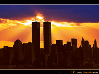 Least We Forget 9/11 (Digital Art) by David Alexander Elder