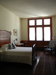 Guest artist's room at Yaddo