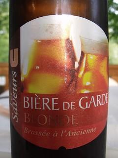 U Les Saveurs, Bière de Garde Blonde. France