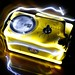Geiger Counter Lightpainting by fstop32photography