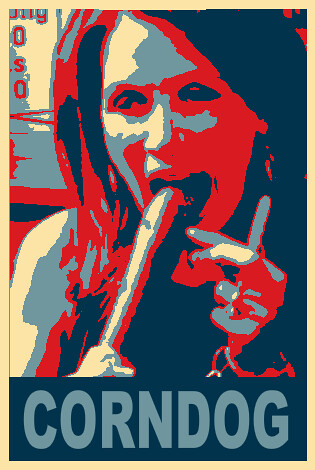 michele bachmann: corndogs are people too