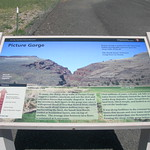 Picture Gorge Historic Plaque