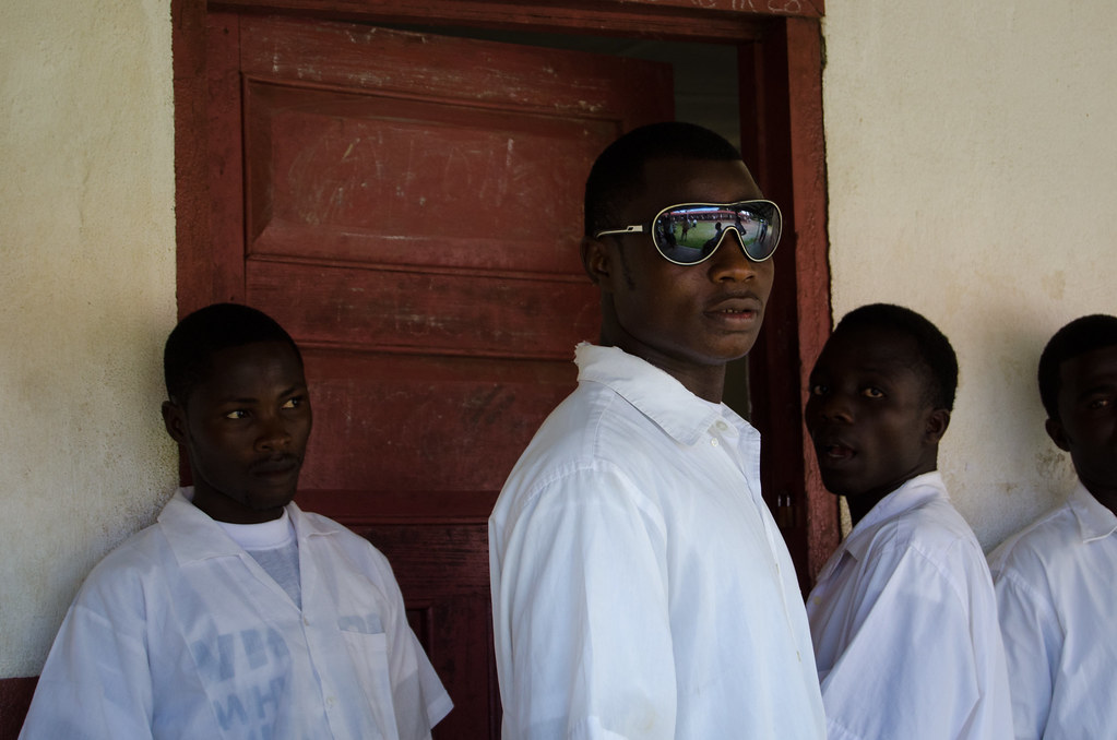 Test Day, Cestos High School, Liberia. By Cameron Zohoori.