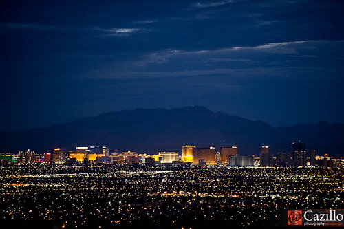Las Vegas Skyline at Dusk