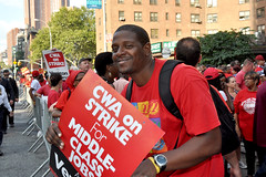 CWA on Strike Against Verizon
