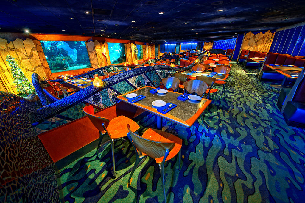 Disney Dining Under The Sea Explored Flickr Photo