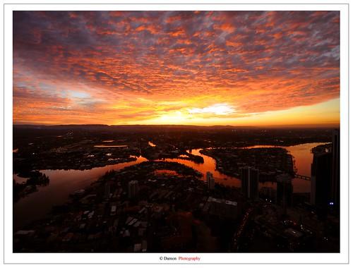 travel winter sunset summer sun reflection set river gold coast gg nikon sigma australia 11 mm nikkor 18 1020 sigma1020mm worldphotographyday 2011 d90 nikkor35mm nikond90 ausse