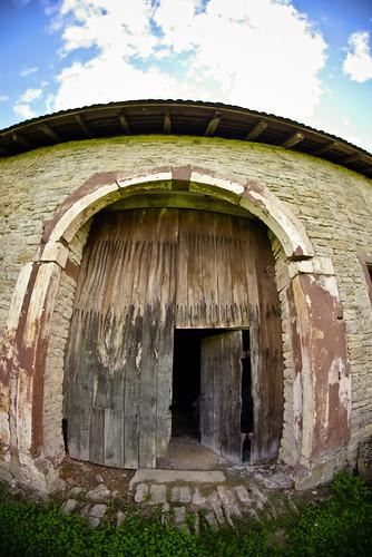 Porte de grange