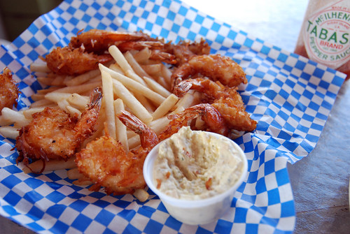 Coconut Shrimp from Shrimp Station