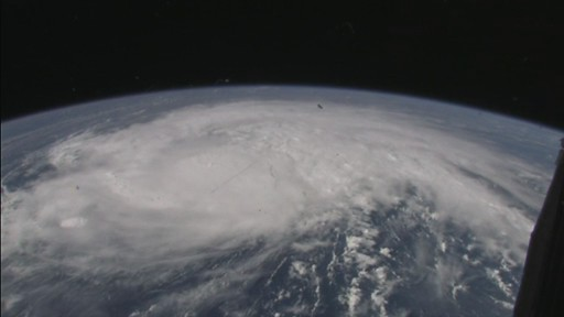 Space Station Cameras Capture Views of Hurricane Irene From Orbit