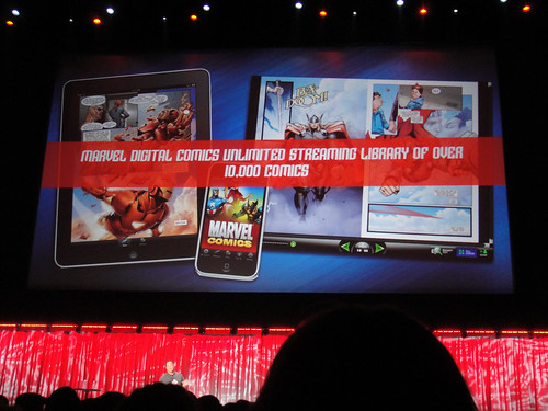 D23 Expo 2011 - Marvel panel - digital comics