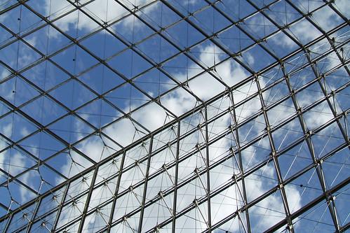 Pyramid  @ Musée du Louvre #1