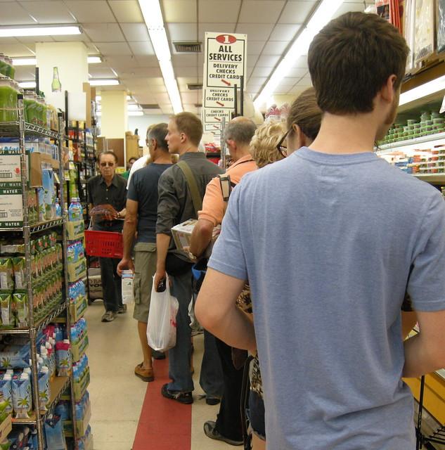 waiting line management in supermarket Internet case study for module d: waiting-line models pantry shopper pantry shopper is a supermarket in suburban philadelphia, where.