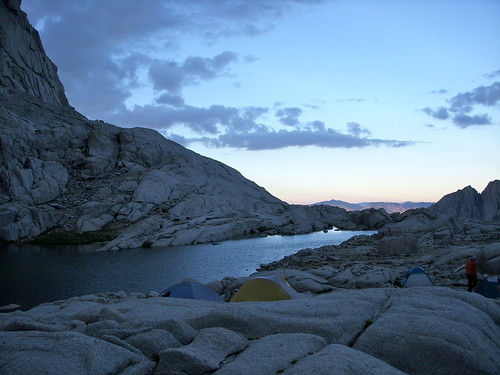 Sunset Above Whitney Trail Camp