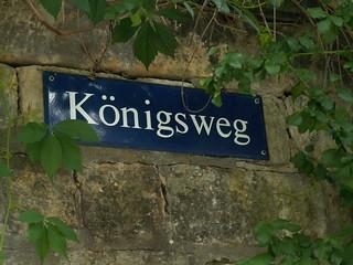 Der Königsweg in Wachwitz (Dresden - Pillnitz)