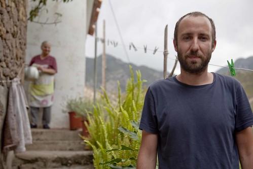 Artista Antonio Ballester. Residencia en La Gomera. Canarias. Campo adentro-arte, agriculturas y medio rural