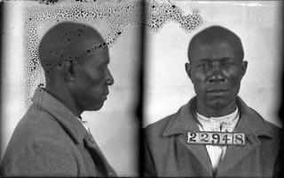 Wilson, Ed (AKA- John Ross). Inmate #22948 (MSA)