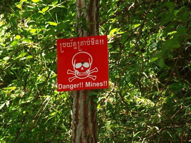 minas camboya